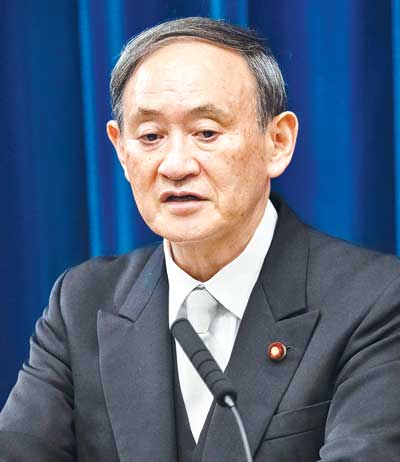 Suga elected as Japan new PM, crafts 'continuity cabinet'