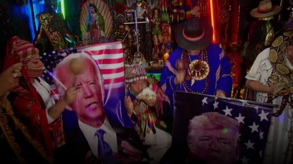 Trump or Biden? Peruvian shamans try to predict US election winner