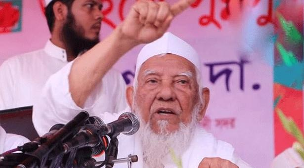 Allama Shafi brought in Dhaka by air ambulance from Chattogram