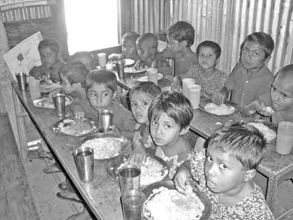 Significance of school meal in Bangladesh