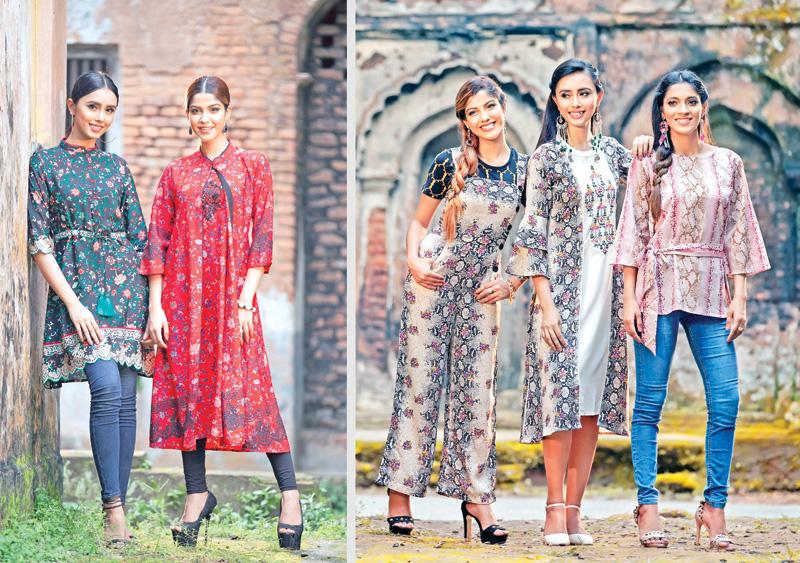 Young girls set fashion trend ablaze