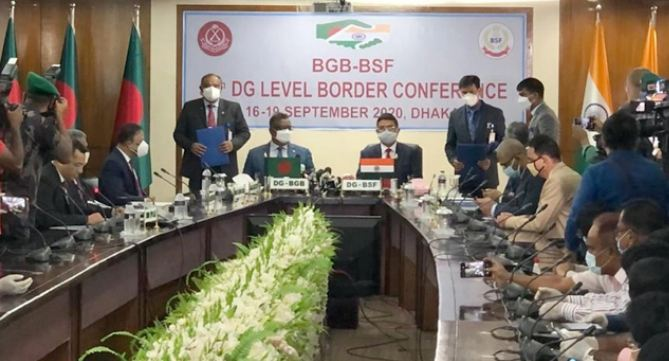 BSF reaffirms to use non-lethal weapons on border