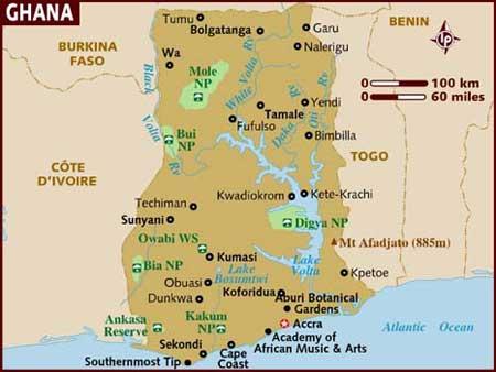 6 teenage footballers killed in Ghana road accident