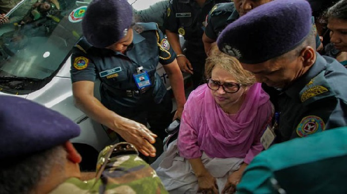 SC upholds stay order on 4 more cases against Khaleda Zia