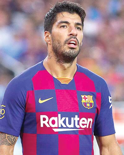 Atletico-bound Suarez leaves last Barca training in tears