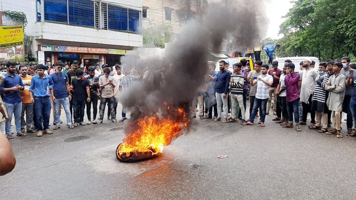 MC College gang rape triggers protests