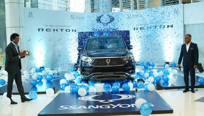 SUV Rexton launched in Bangladesh