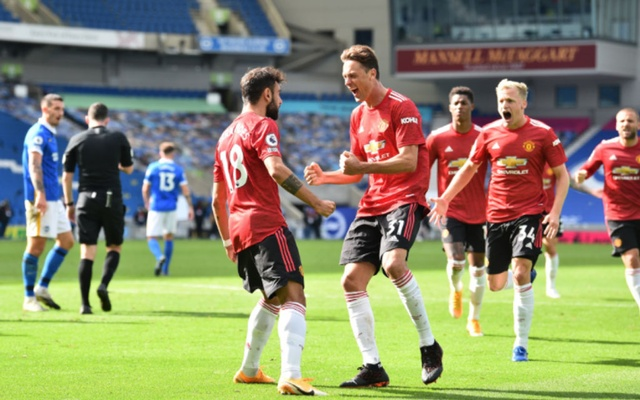 Man Utd earn dramatic win at Brighton