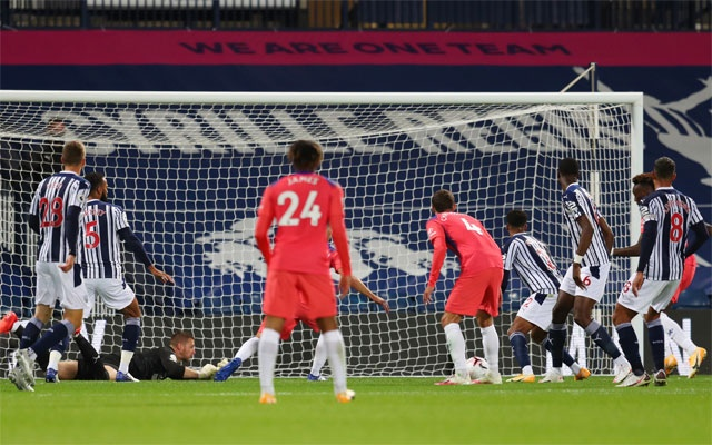 Chelsea recover from 3 goals down at West Brom