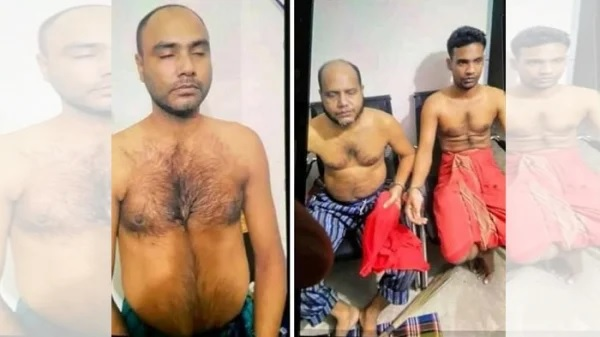 Three persons including the prime accused of killing three people at village Moshiali under Khan Jahan Ali Police Station in Khulna were arrested in Dhaka on Friday..