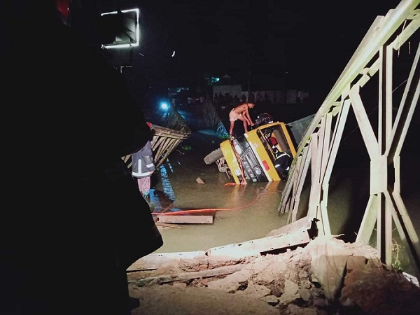 Bailey bridge in Tangail collapses