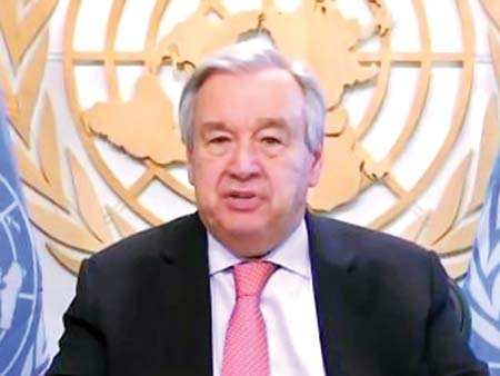Divided world is failing Covid-19 test, says frustrated UN chief