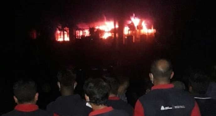 Fire at Ashulia garment factory