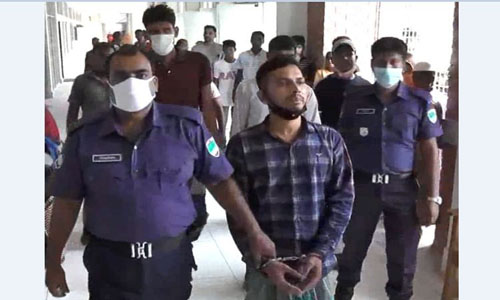 Arrested man placed on 5-day remand