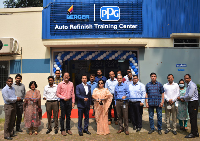 Berger launches training facility for auto-painters