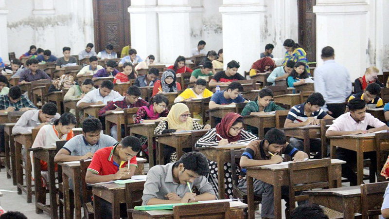 Students will need to appear at DU admission tests in-person