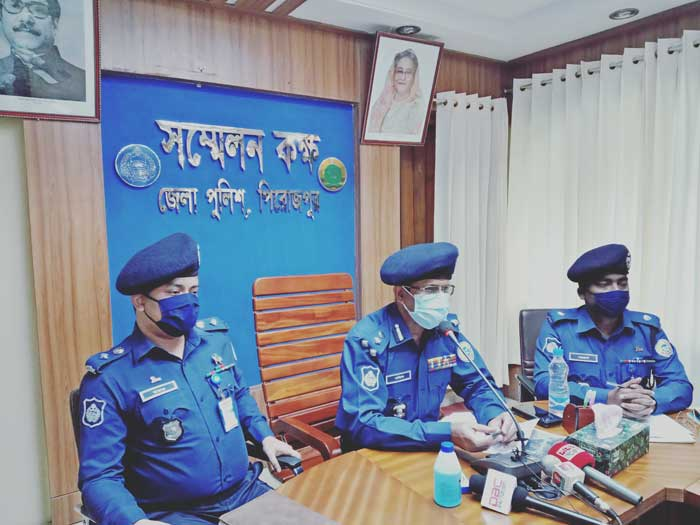 Mastermind among four arrested over Chinese national murder in Pirojpur