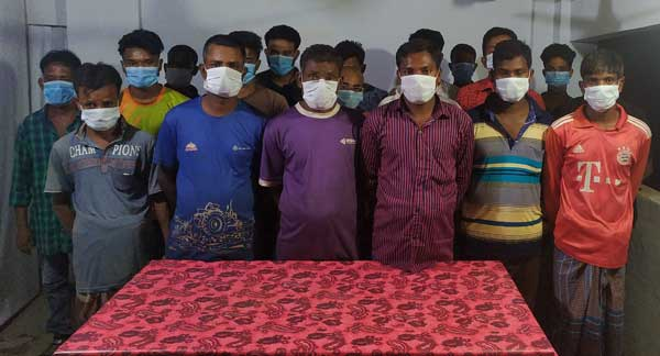35 drug addicts, gamblers held in Joypurhat