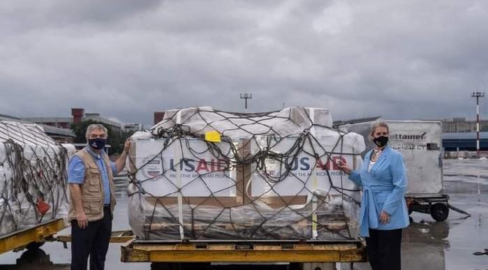 US gives 100 ventilators to Bangladesh to combat COVID-19