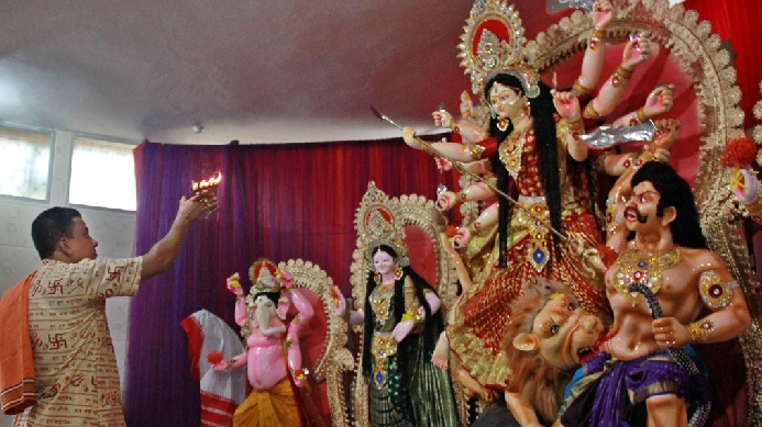 Maha Ashtami today, devotees to join puja anjali from homes