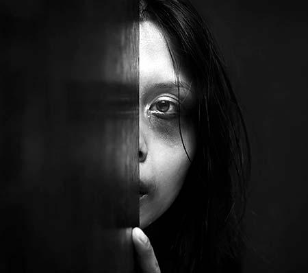 Why do majority of women endure domestic abuse?