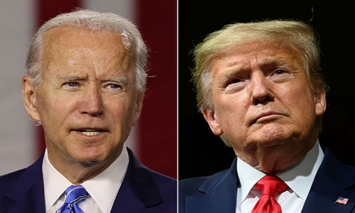 Trump launches intense campaign push, Biden hammers him on Covid