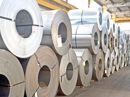 Global steel output rose in Sept