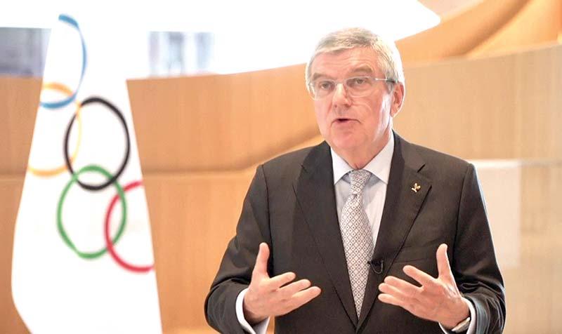 Olympic chief Thomas Bach.