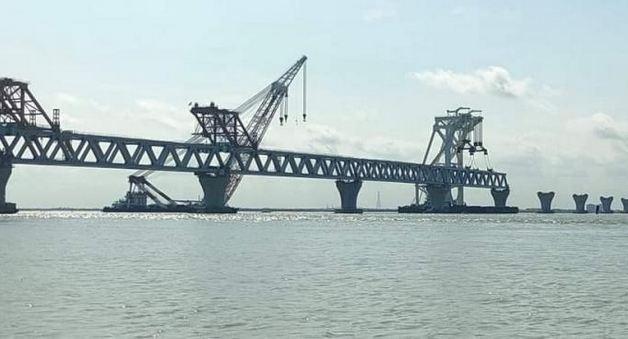 34th span of Padma Bridge installed