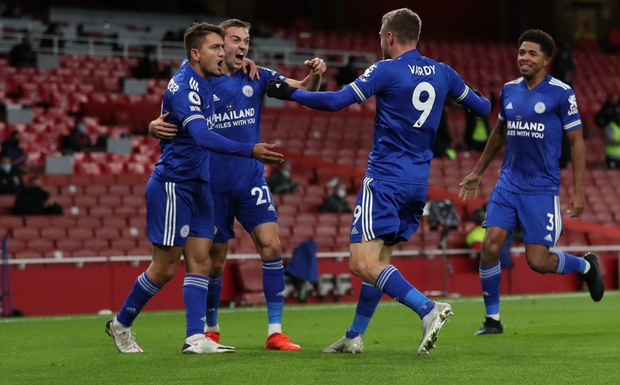 Leicester earn first win at Arsenal in 47yrs