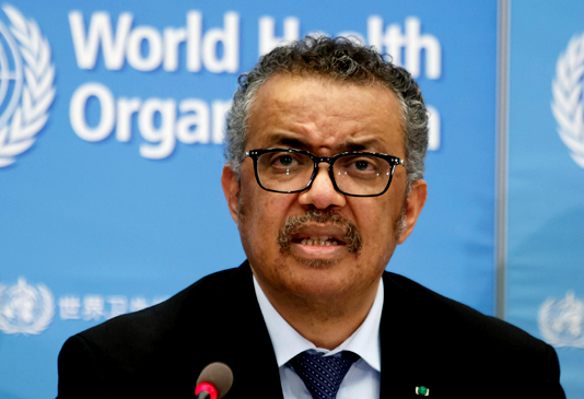 WHO chief warns against 'vaccine nationalism'
