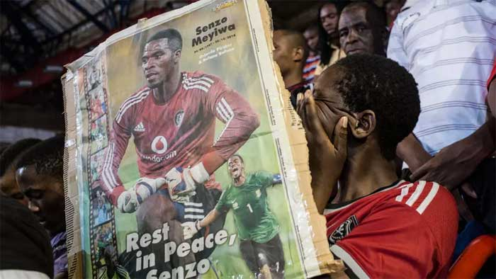 Five arrested over S African football captain murder