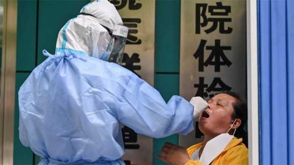 China has previously responded to small outbreaks with large-scale testing --GETTY IMAGES
