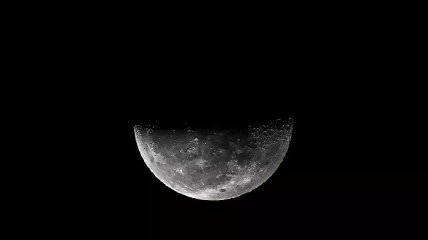The Moon was thought to be bone dry until around a decade ago AFP/File