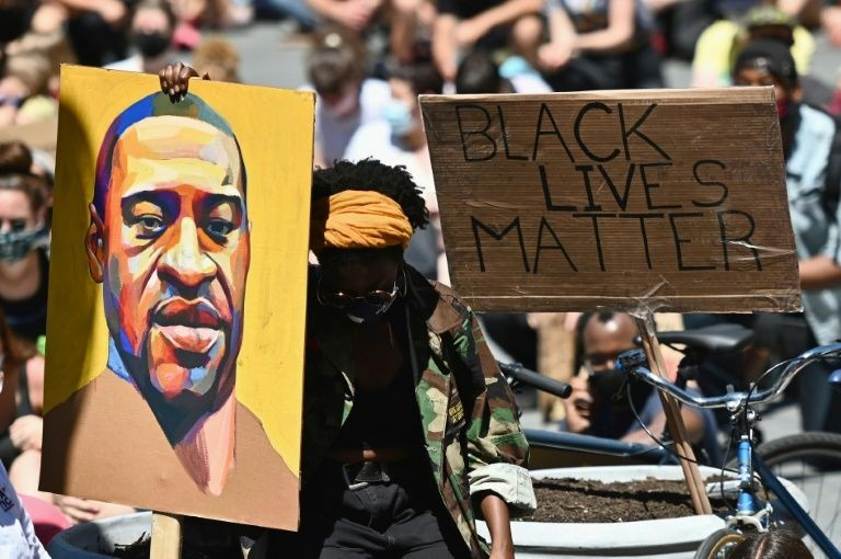 The US has seen waves of protest since the killing of George Floyd in May, which became a symbol of what many say is systemic racism and abuse of African Americans by police. Photo: AFP