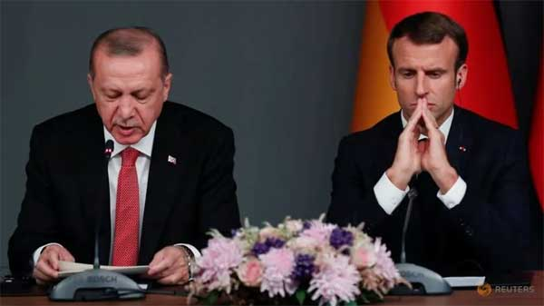Amid France-Turkey row, UK calls on NATO allies to defend free speech