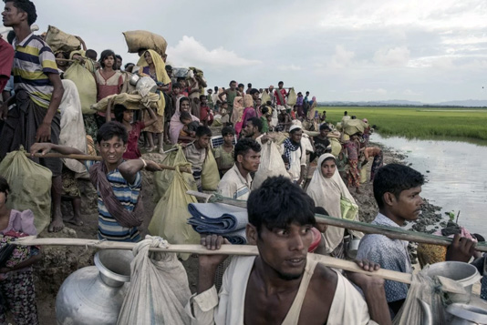 UNHCR lauds EU's support for Rohingyas, host communities
