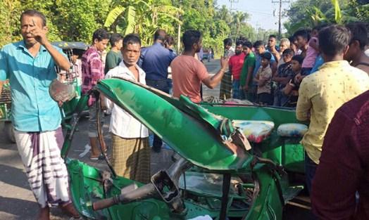 Three killed in Feni road accidents