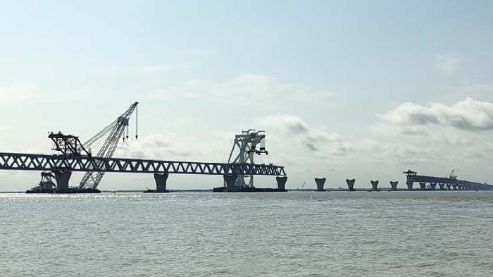 Padma Bridge: 35th span to be installed Saturday