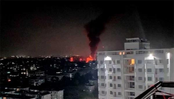 Fire breaks out at Kalyanpur slum