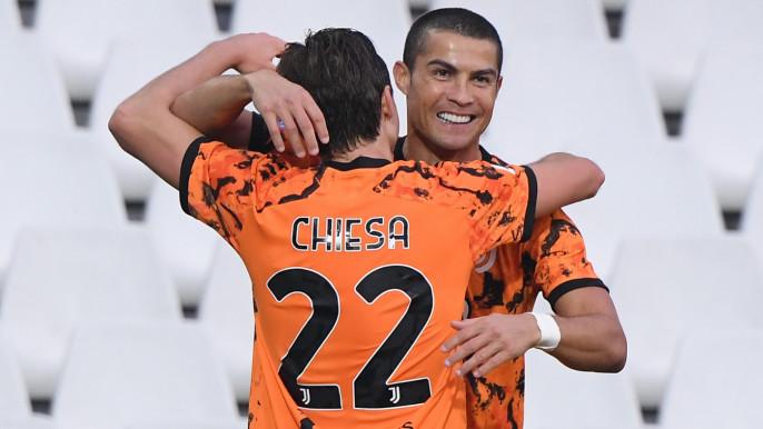 Ronaldo scores twice on return from Covid-19
