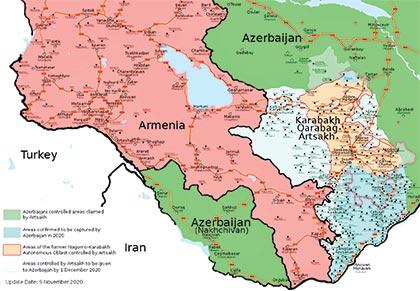 Armenia-Azerbaijan war: Equation of profit and loss