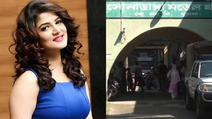 Harassing actress Srabanti on mobile, youth arrested in Khulna