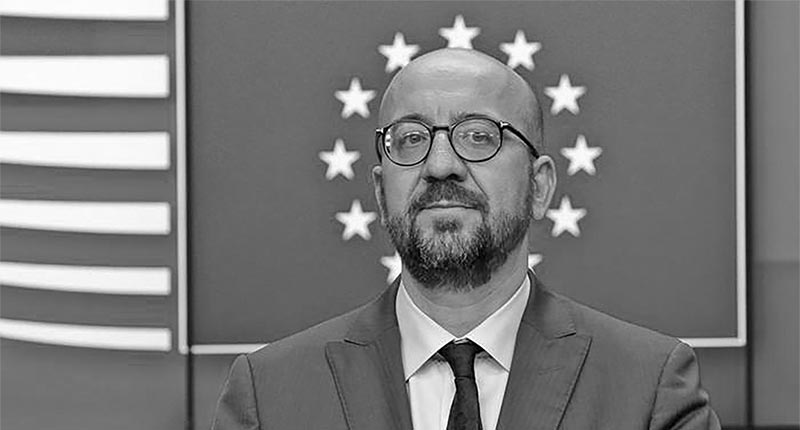 Chairman of EU leaders Charles Michel