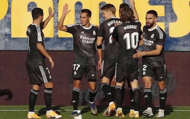 Real Madrid draw at Villarreal