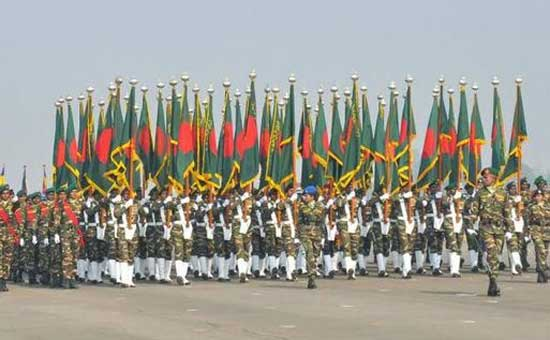 Govt cancels parade on Victory Day