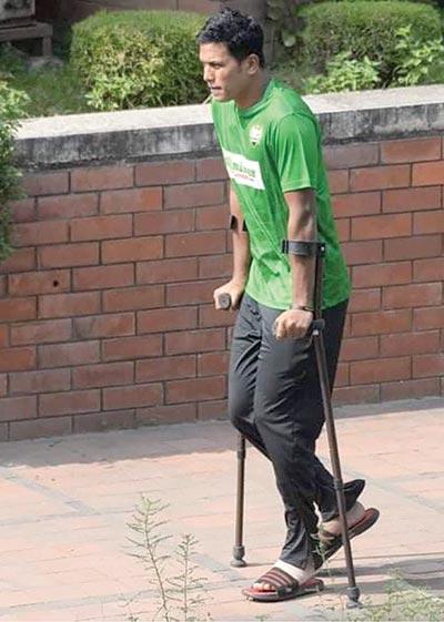 Saifuddin injured, doubtful for kick-starter