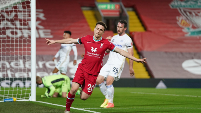 Liverpool go level with leaders Spurs, Arsenal held at Leed