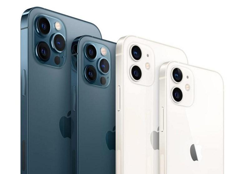Apple's iPhone 12 range has familiar display problems. Photo: Apple