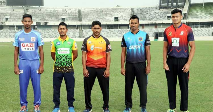 The Bangabandhu T20 Cup 2020 is all set to start Tuesday at the Sher-e-Bangla National Cricket Stadium with matches Beximco Dhaka vs Minister Group Rajshahi and Fortune Barishal vs Gemcon Khulna matches. (Collected photo)